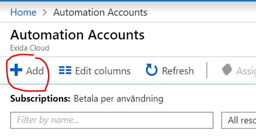 AzureAutomation1