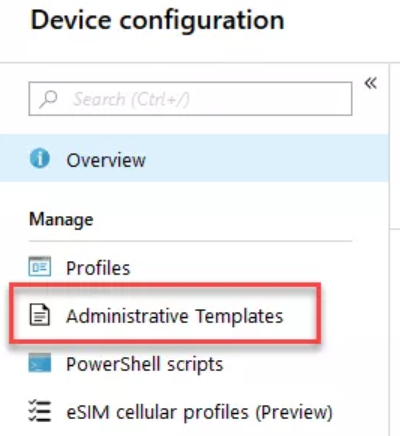 How to Replace your old GPOs with Intune Configuration Profiles